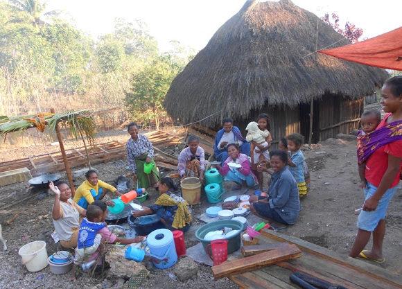 Indonesia: garantire l'accesso all'acqua alla gente di Nurobo
